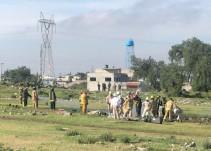 Toma clandestina provoca fuga de gas en Edomex