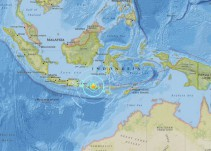 Mueren 39 personas por sismo en Indonesia