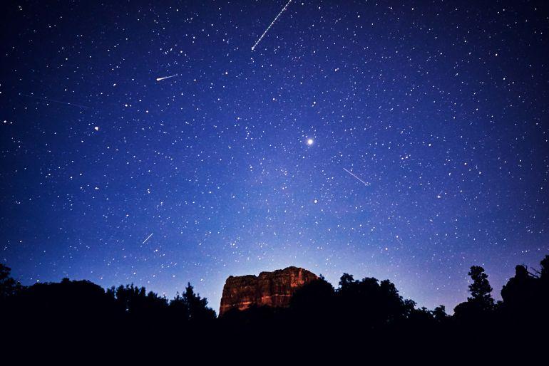 La luna permitirá vislumbrar con mayor claridad las Perseidas este domingo