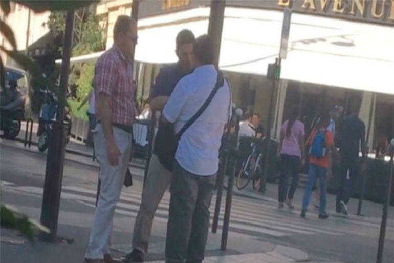 Seguridad de Angélica Rivera agreden a reportero en París