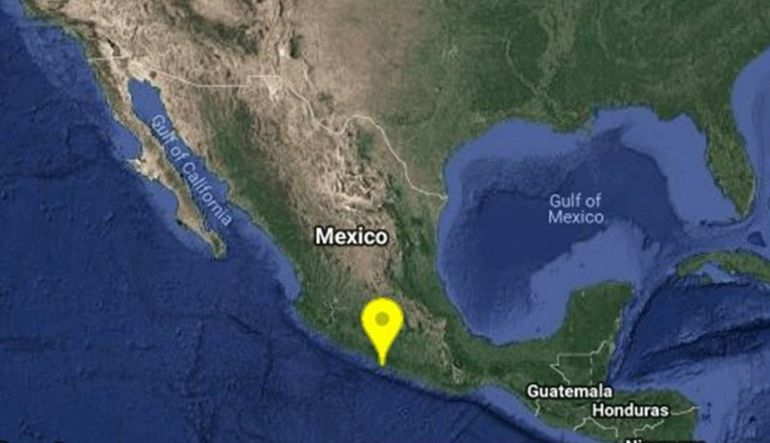 Tiembla con magnitud 5.2 en Guerrero