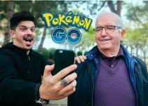 Abuelo se vuelve adictivo a Pokémon GO