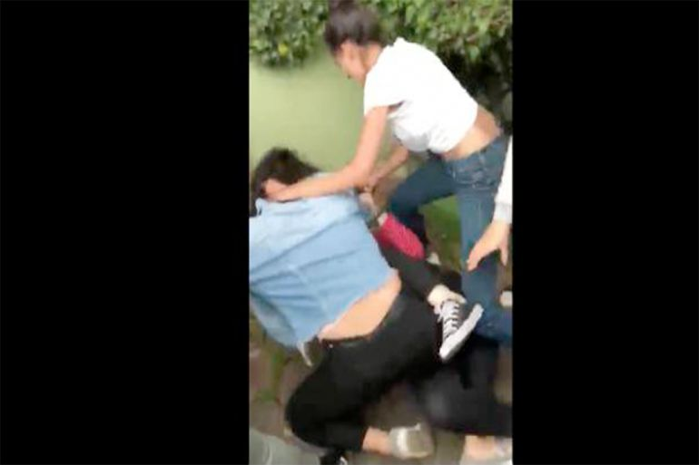 Difunden videos de golpiza a estudiante en Coyoacán