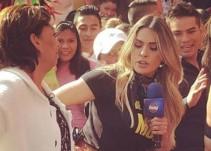 Galilea Montijo discute con una mujer por culpa de AMLO