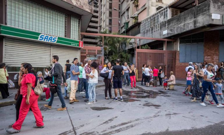 Sismo de 7.3 sacude Venezuela