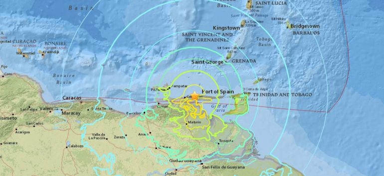 Así se vivió el sismo de magnitud 7.3 en Venezuela (VIDEO)