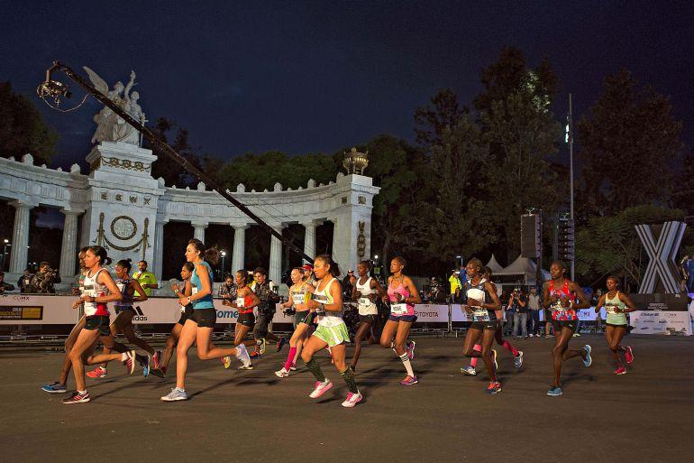 maratón CDMX 2018