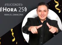 """""""Hora 25"""" celebra 2 años al aire"""