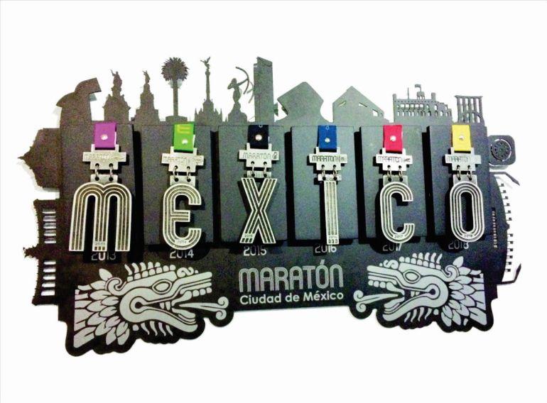 """¿Qué significa la letra """"O"""" de la medalla del Maratón de la Ciudad de México?"""