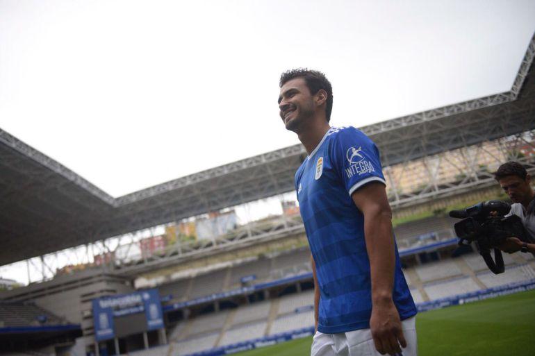 Oswaldo Alanís es prioridad en el Real Oviedo