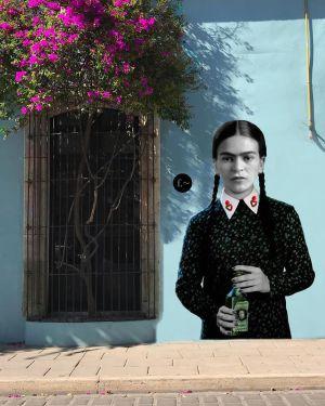 Murales en Oaxaca mezclan íconos mexicanos y de Hollywood