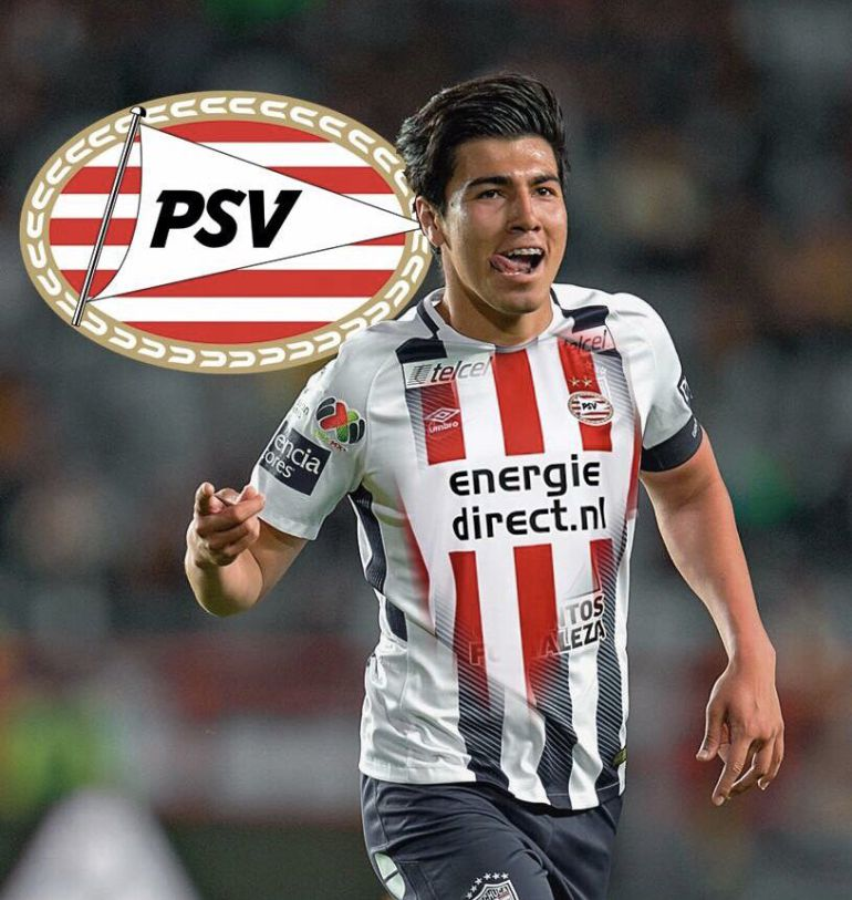 Erick Gutiérrez PSV: Erick Gutiérrez se va al PSV Eindhoven