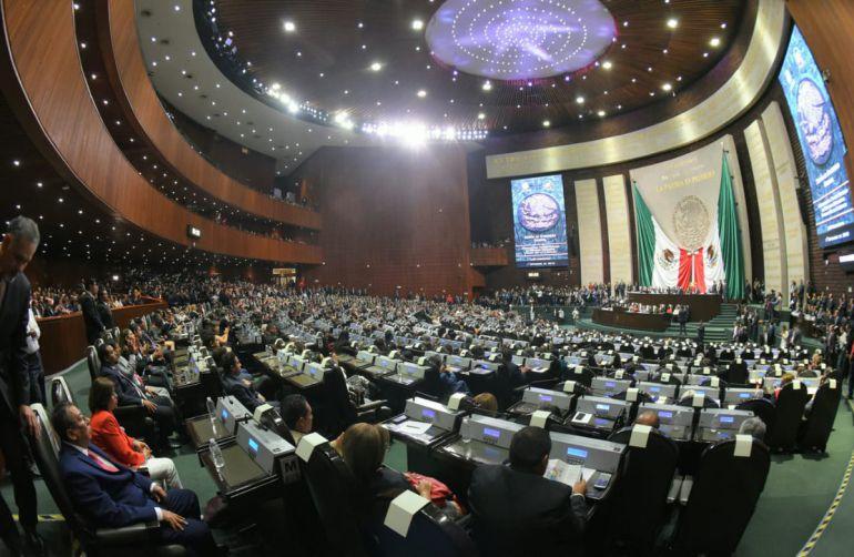 Congreso, nueva Legislatura: Inicia Congreso el primer periodo de sesiones de la LXIV Legislatura