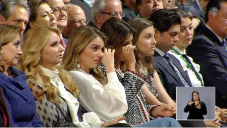 Familia de EPN llegan a las lágrimas en el último Informe de Gobierno