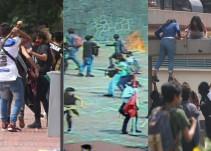 Presuntos porros agredieron a estudiantes en C.U