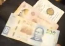 Dejan billete de 500 de propina en vez de 20 pesos