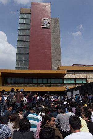 Expulsan a 18 de la UNAM