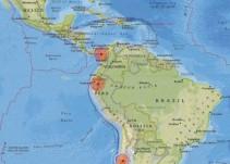 Se registran fuertes temblores la noche del jueves en tres países