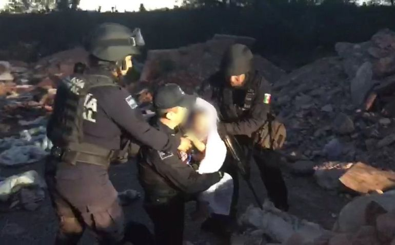 SEGOB, Policía Federal, niña, SLP: Indaga PF participación de uniformados en el hallazgo de una niña en SLP