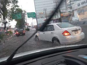 Se reportan fuertes lluvias en la CDMX