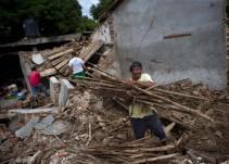 Solo 3O% de las viviendas han sido reconstruidas en Unión Hidalgo,Oaxaca