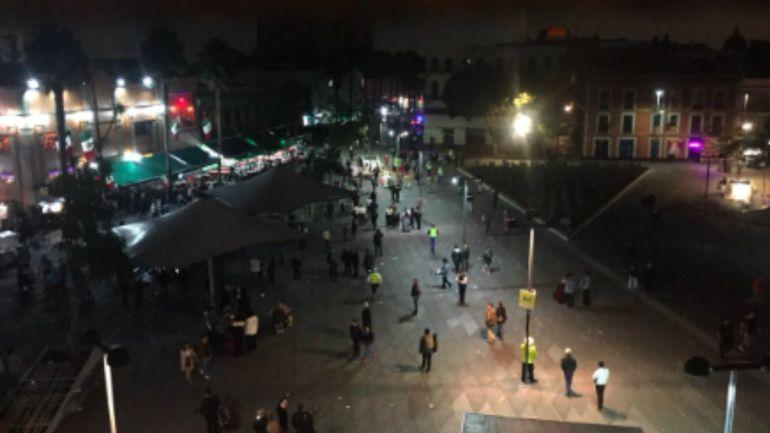 Huida de agresores tras balacera en Garibaldi