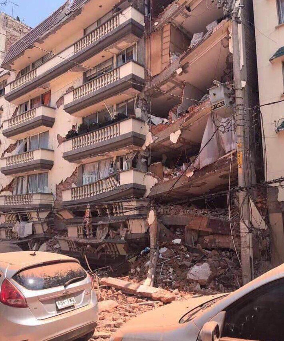 Edificio ubicado en la calle de Coquimbo