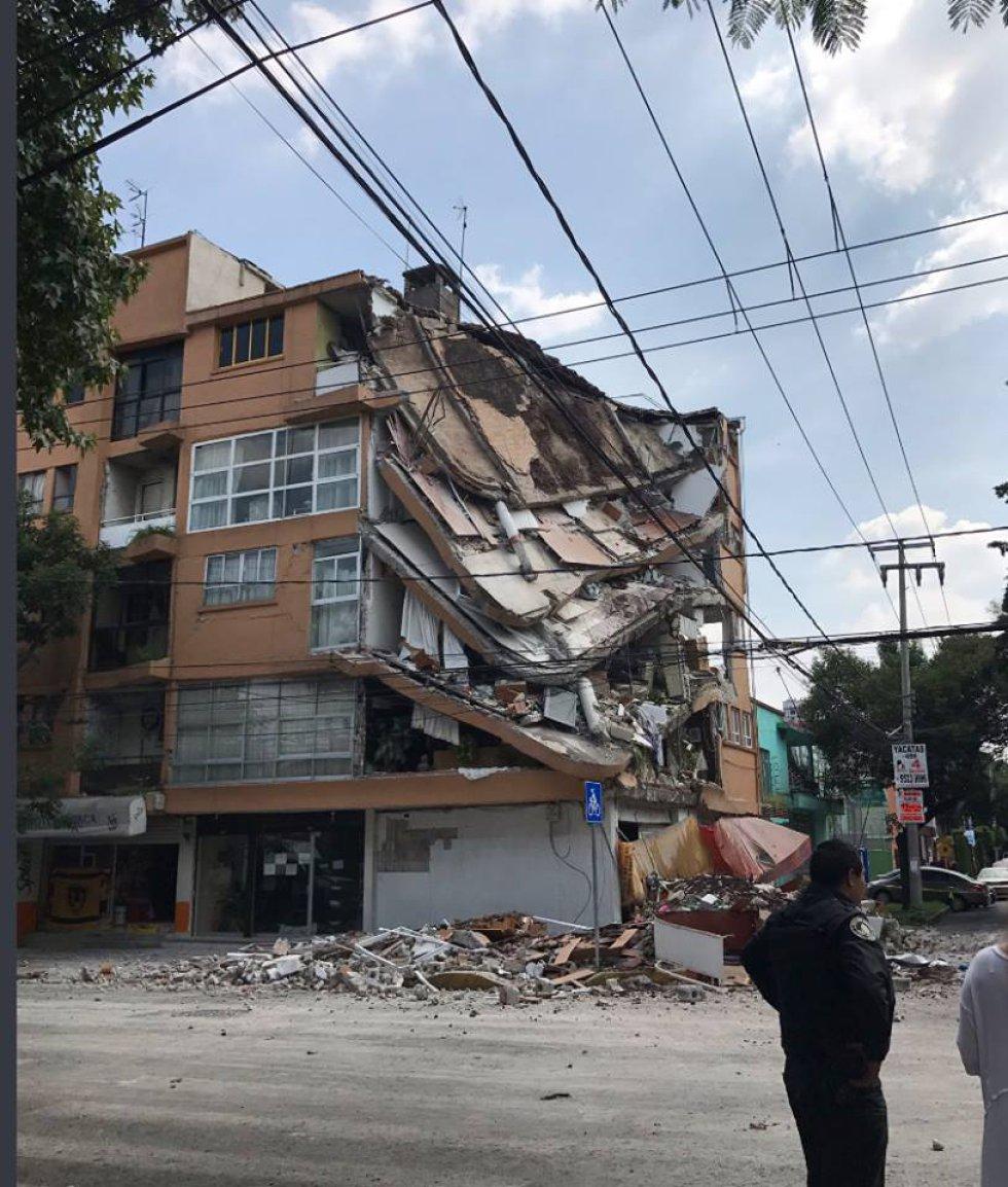 Edificio ubicado en Concepción Beistegui