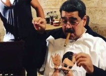 Venezolanos indignados por cena lujosa de Maduro