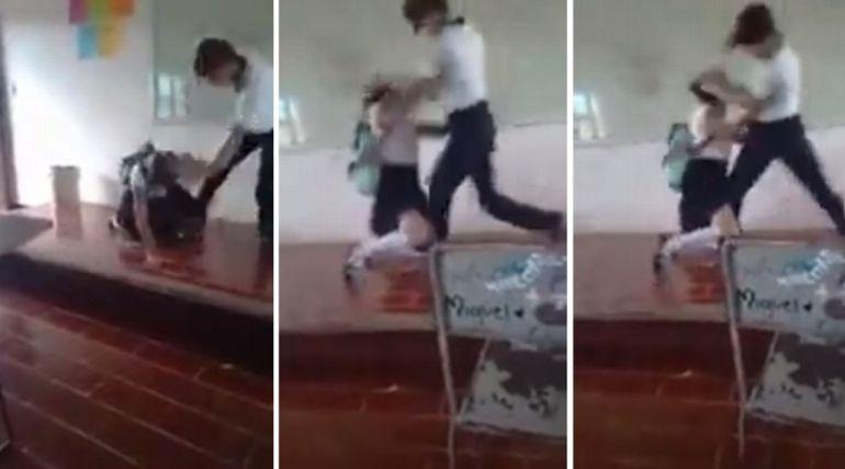 Joven golpea a su compañera en escuela de Quintana Roo