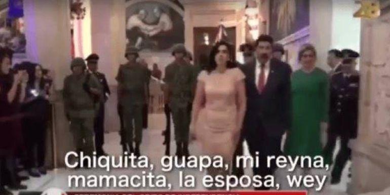 """Reportero olvida apagar micrófono mientras le llama """"mamacita"""" a la esposa de Javier Corral"""