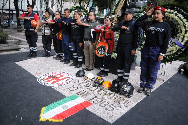 sismo, 19 de septiembre: Conmemoran a víctimas del 85 y 2017 en la CDMX
