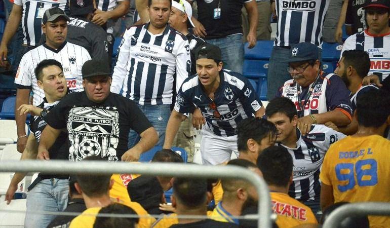 violencia, clasico regio, Tigres vs Monterrey: ¡Violencia en el Clásico Regio!