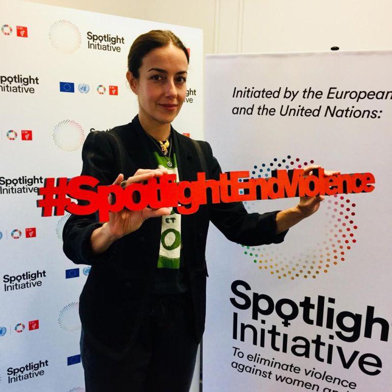 Cecilia Suárez se une a la ONU por campaña contra la violencia de las mujeres