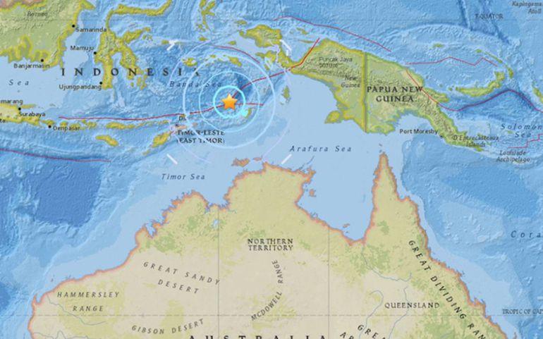 Indonesia activa alerta de tsunami por terremoto de 7.5
