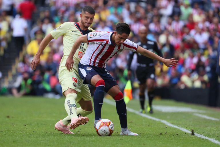 América, 1, Chivas, , Clásico Nacional, Liga MX: América perdonó a Chivas en el Clásico
