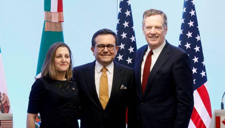 México, EU y Canadá pactan nuevo acuerdo comercial