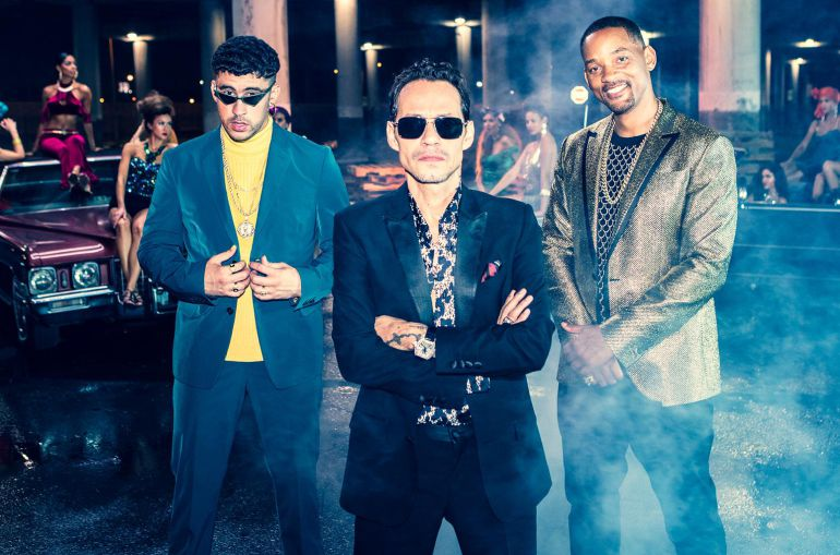 Marc Anthony publica nueva en YouTube: Marc Anthony, Will Smith y Bad Bunny estrenan nuevo tema