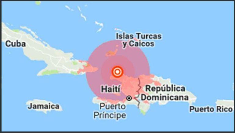 Terremoto sacude a Haití
