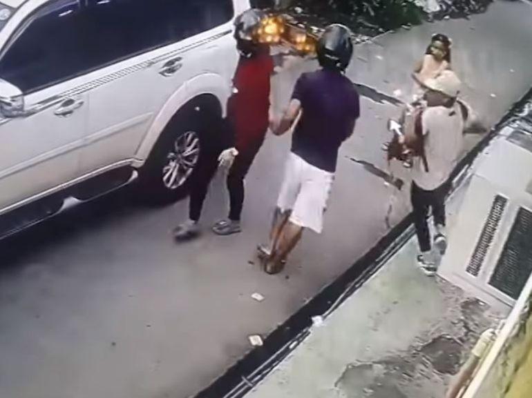 Niña de 8 años enfrenta a ladrones