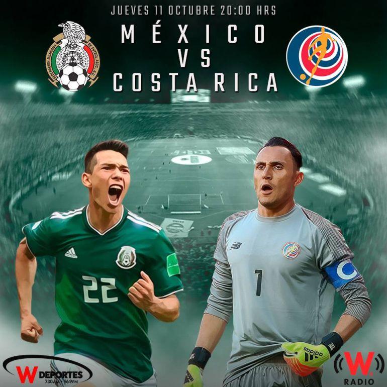 México se pone a prueba ante Costa Rica