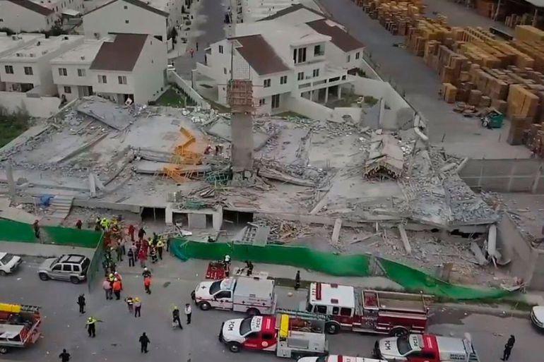 derrumbe, Monterrey: Derrumbe deja siete muertos en Monterrey