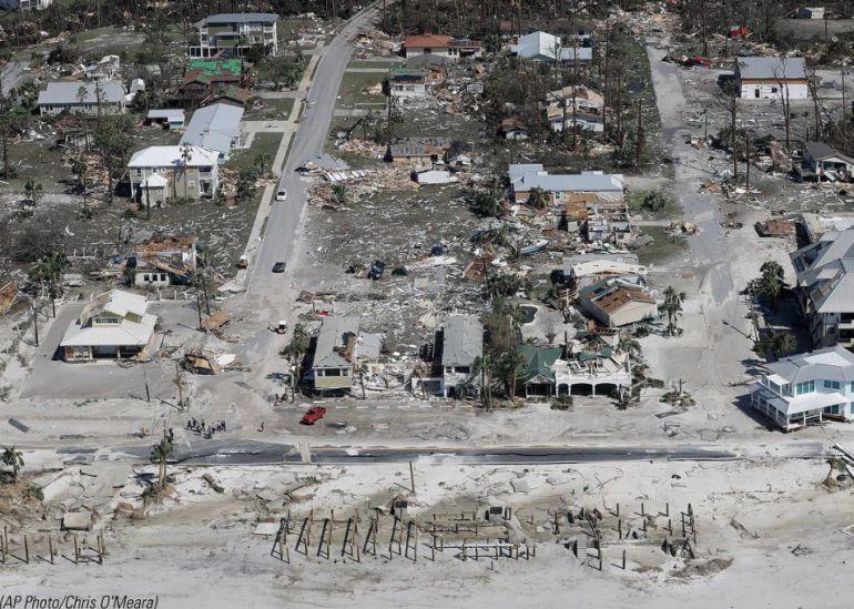 El otro Mexico (sí, sin acento) arrasado por el huracán Michael