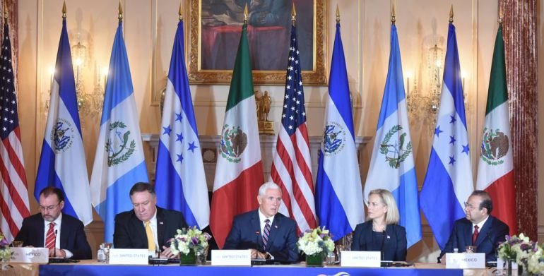 Renato Sales, Triángulo Norte de Centroamérica: Impulsa México grupo de inteligencia fronteriza para el Triángulo Norte de Centroamérica