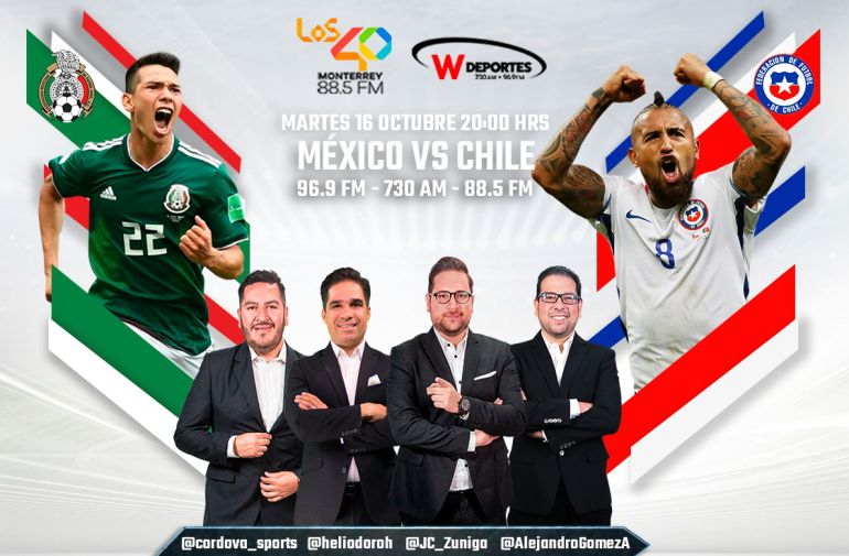 México vs Chile, en vivo online, amistoso, fecha fifa: México buscará venganza ante Chile