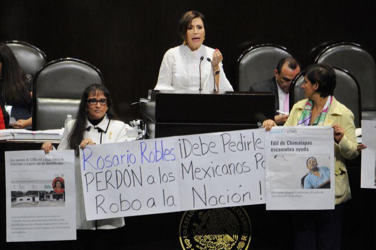 """Rosario Robles, Estafa Maestra: """"Que se me investigue todo lo que quieran"""": Rosario Robles, por la Estafa Maestra"""