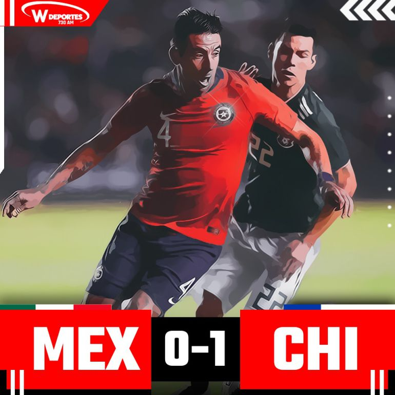 México no pudo ante Chile