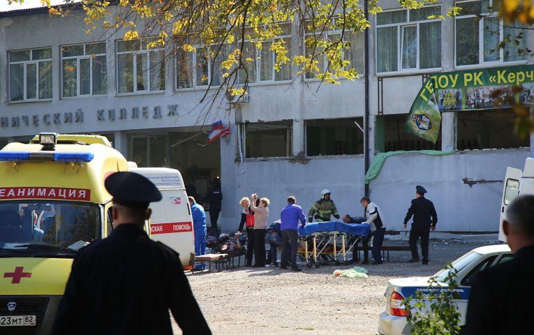 Registran atentado en Universidad de Crimea