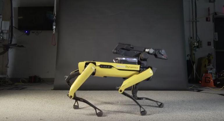 Robot baila como Michael Jackson