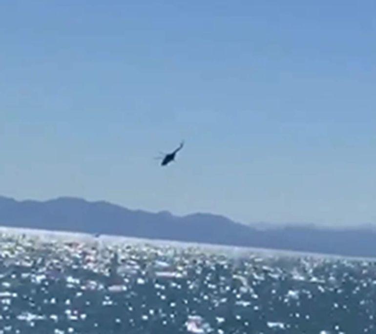 Se desploma helicóptero de la Marina en el Golfo de California